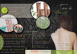 Brochure institut Terre de Beauté