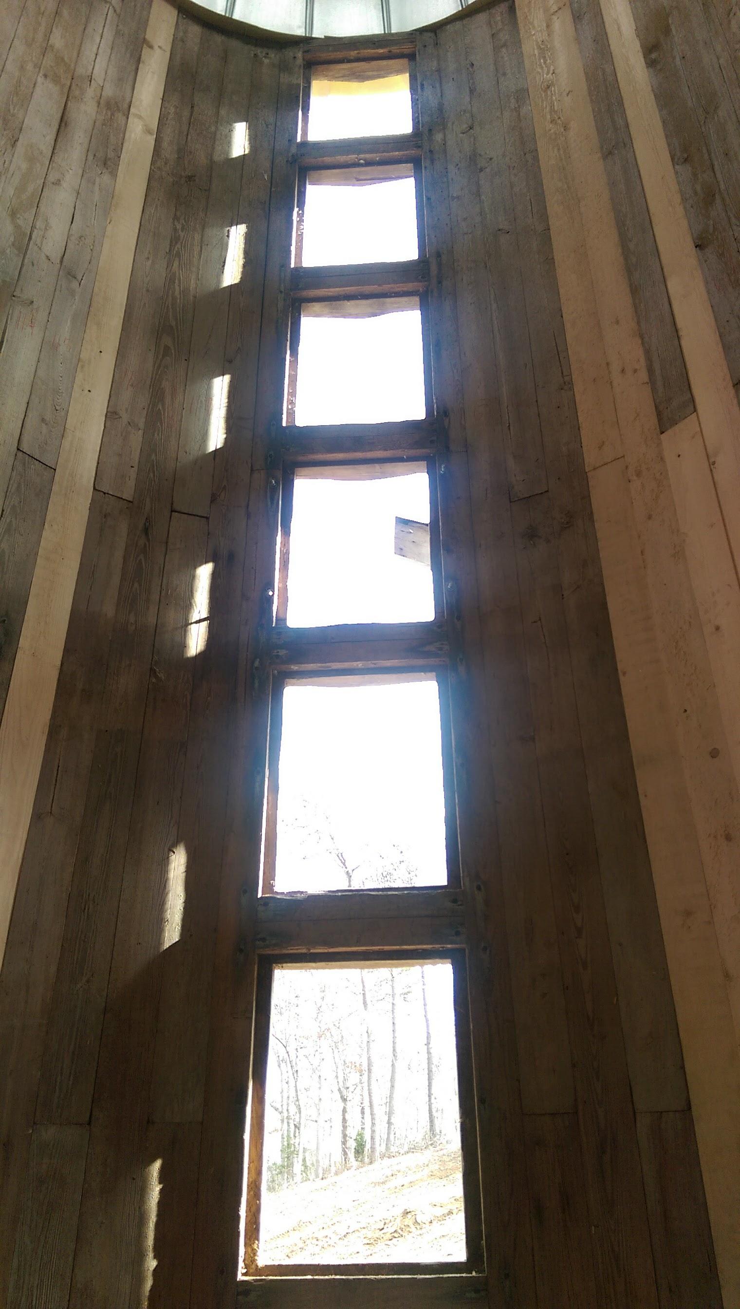 Inside the silo