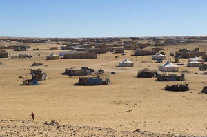 Sahrawi Refugee Camp in South West Algeria. (©European Union)