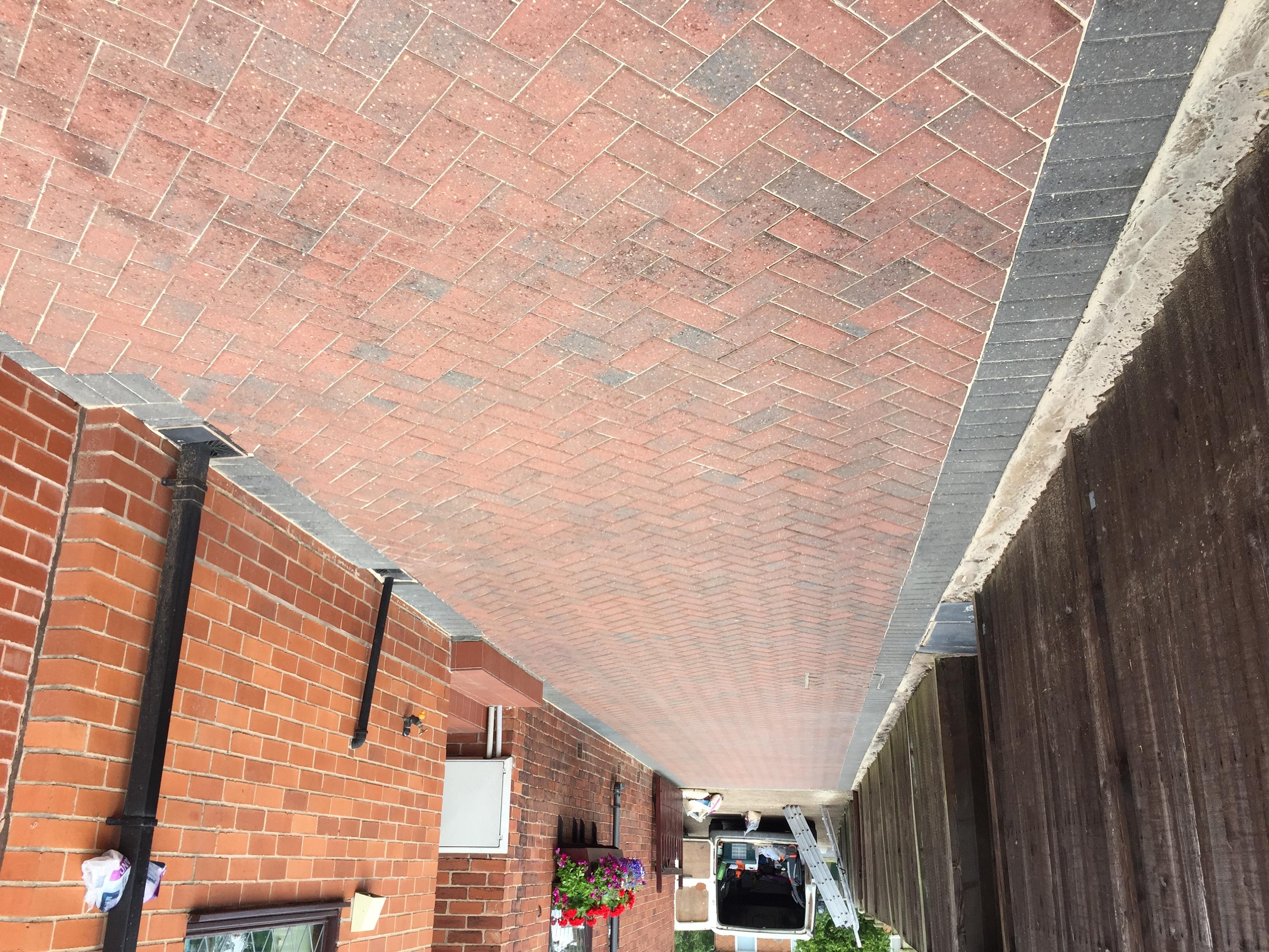 driveway renovation