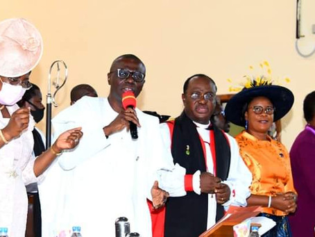 WE'LL STOP AT NOTHING TO MAKE LAGOS SAFE, SECURE FOR ALL, SAYS GOV. SANWO-OLU