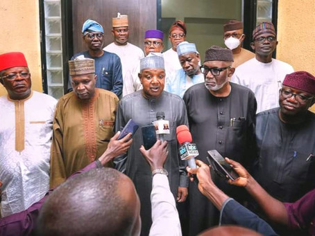 APC GOVERNORS COMMEND GOV. SANWO-OLU ON SECURITY