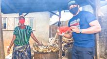 Jermaine Sanwo-Olu Distributes FaceMasks To Ayobo Residents #MaskUpLagos