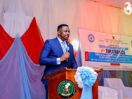 LAGOS CELEBRATES INTERNATIONAL DAY OF TOLERANCE