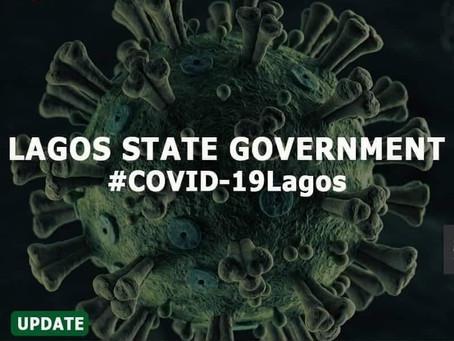 LAGOS STATE CORONAVIRUS UPDATE – JANUARY 31,  2021