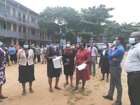 SCHOOL RESUMPTION: Lagos Permanent Secretary, Tutor-General, Others Monitor Level Of Compliance