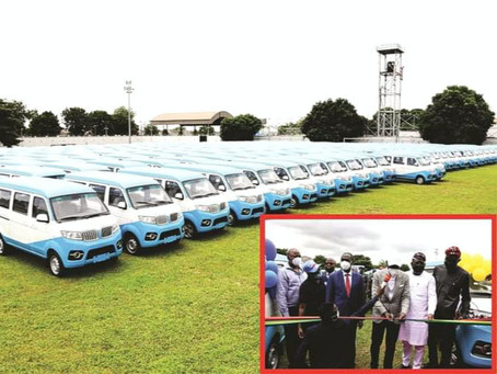 GOV. SANWO-OLU LAUNCHES 500 SAFE, SECURE FIRST-AND-LAST MILES BUSES