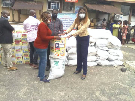 COVID-19: LSACA Distributes Relief Packages To People Living With HIV/AIDS