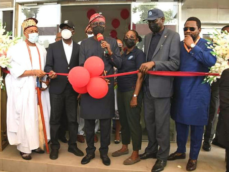 GOV. SANWO-OLU DELIVERS YABA BUS TERMINAL TO BOOST PUBLIC TRANSPORTATION SERVICES