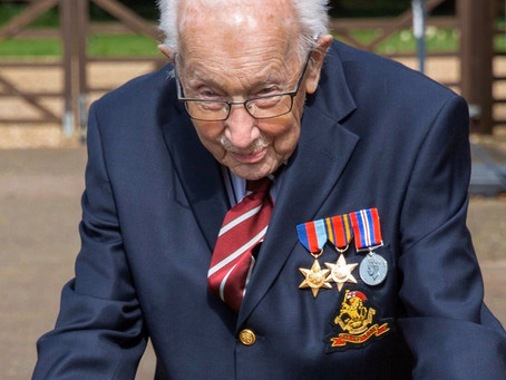 99 Year Old WWII Veteran, Raises Nearly £20 mn For UK Health Workers