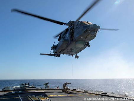 Debris Of Missing Canadian NATO Helicopter Found