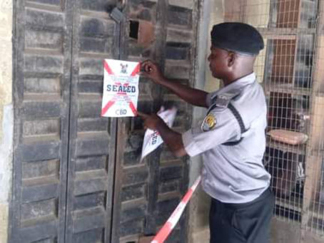 COVID-19: Lagos CBD Clamps Down On Recalcitrant Shop Owners