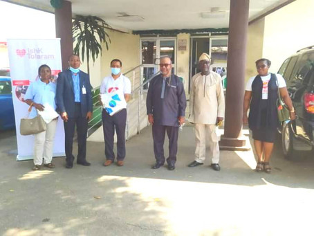 Health Emergency Initiative Donates PPE To LASUTH