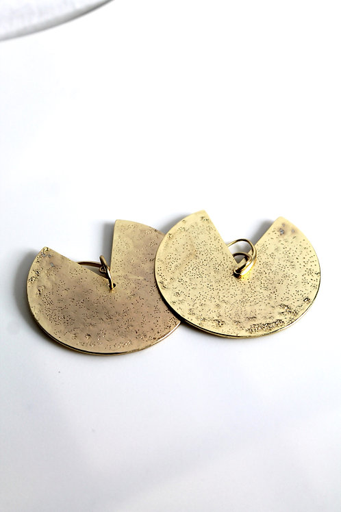 Pac-Man Earrings