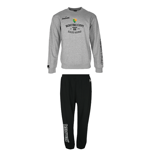 "SET: Spalding Crewneck + Long Pants ""Camp"""