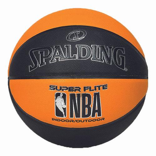 Spalding Basketball Super Flite schwarz/orange