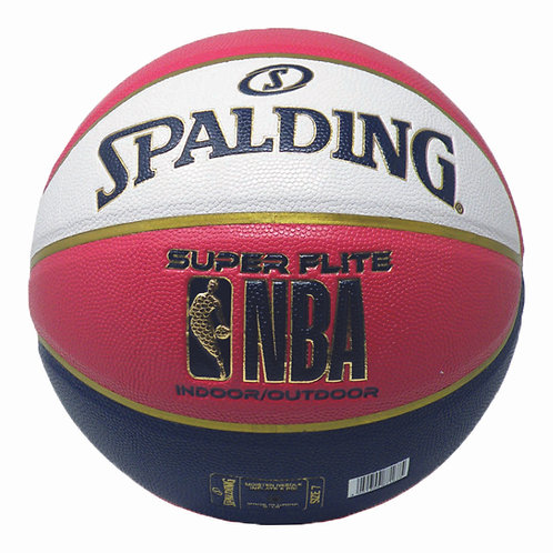 Spalding Basketball Super Flite rot/blau/weiss
