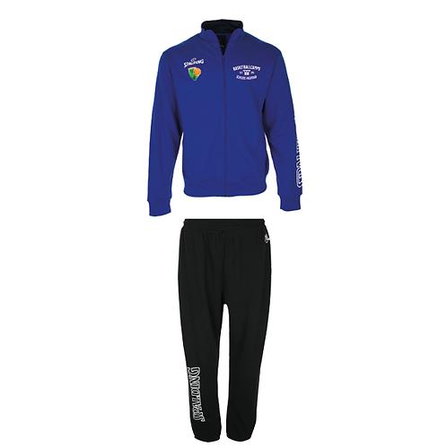 "SET: Spalding Zipper Jacket + Long Pants ""Camp"""