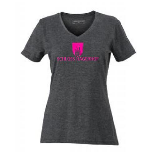 Damen V-Neck T-Shirt