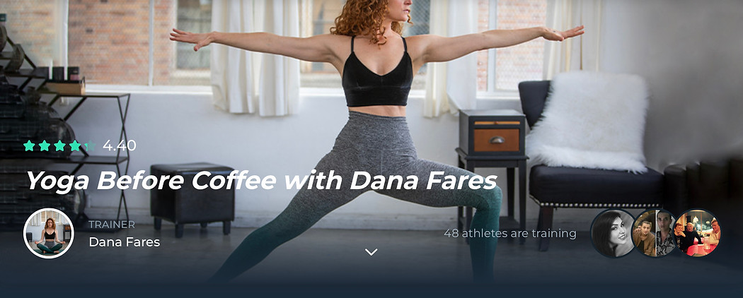Yoga Before Coffee with Dana Fares