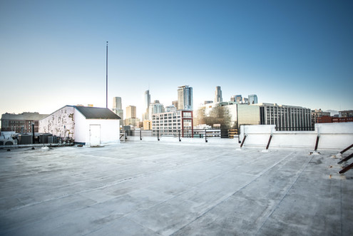 Rooftop DTLA View from South Side