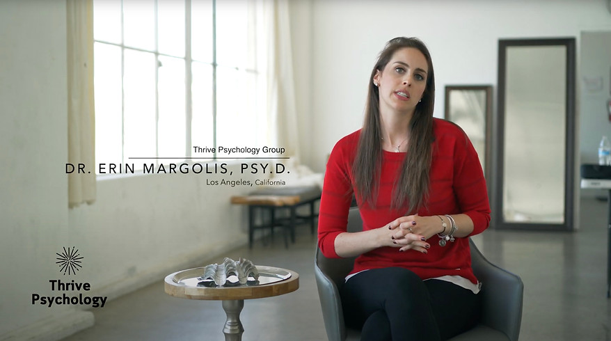 Emotionally Focused Therapy, (EFT), Dr. Erin Margolis, Psy.D., Thrive Psychology Group, Los Angeles