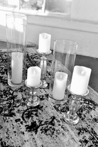 Flameless Flickering Candles & Pillars