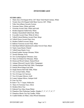Skyline Loft-Inventory List WEBSITE-01.p