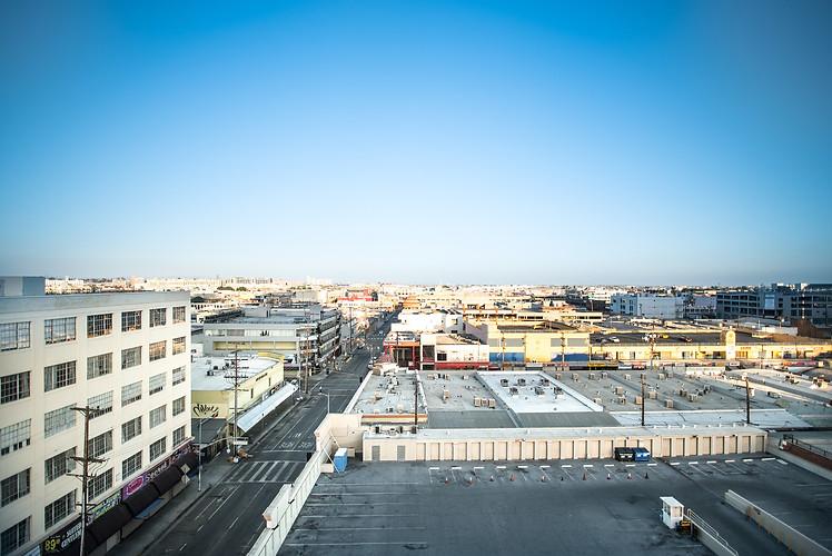 Rooftop East Los Angeles Side