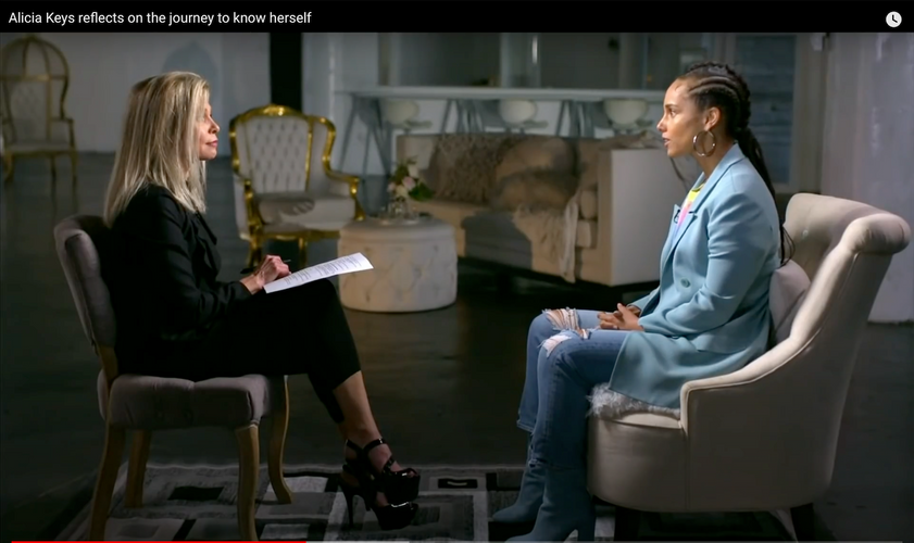 Alicia Keys on her struggle to know herself
