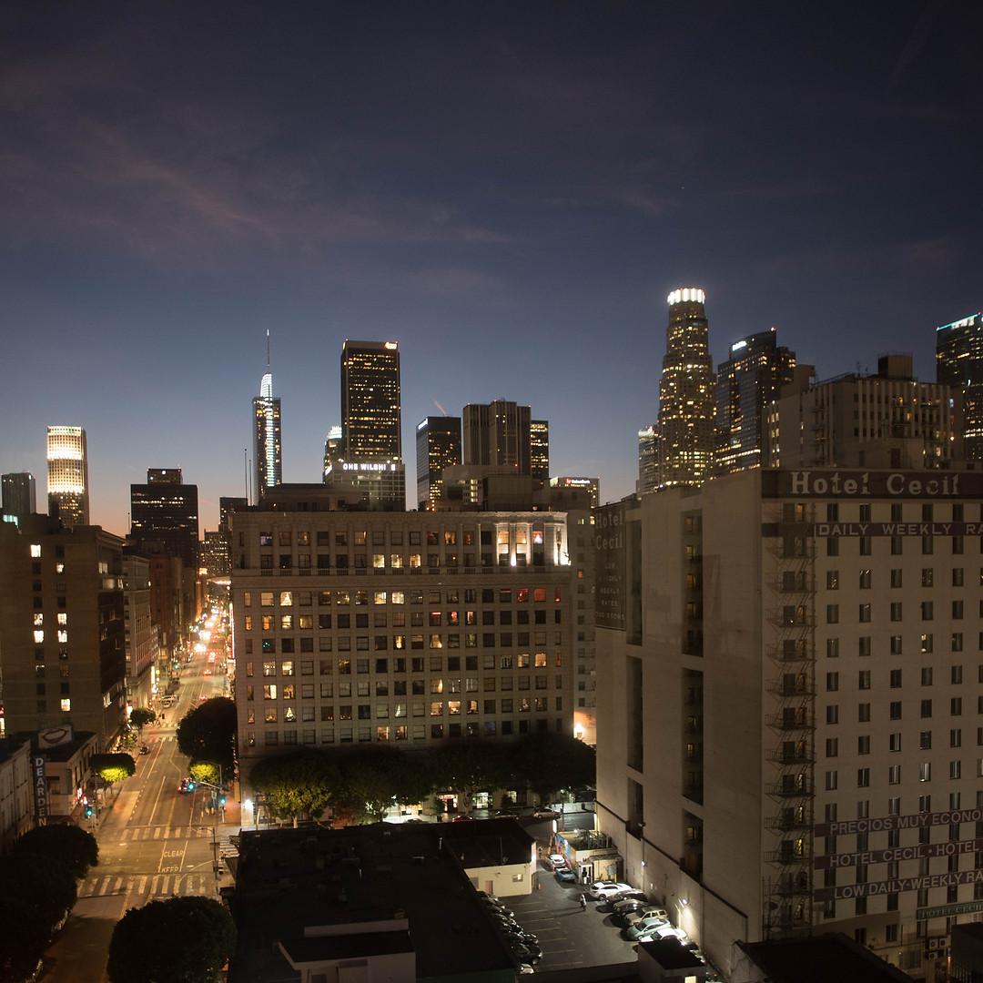 Skyline Penthouse Night View