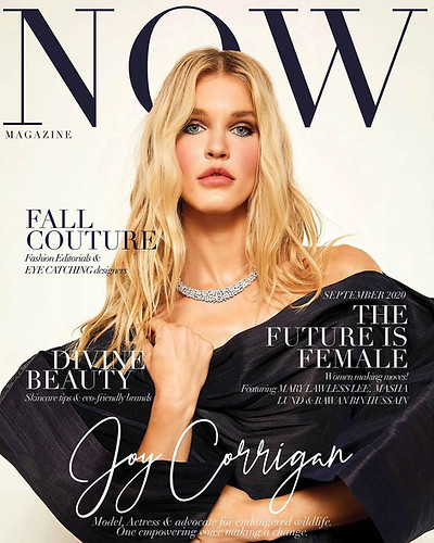 Now Magazine Cover Feature - Joy Corrigan