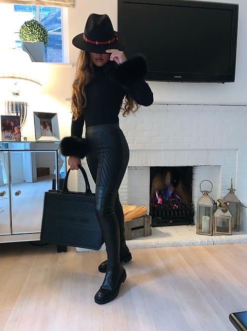 The Black Roxy Top - PRE-ORDER