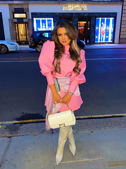 The Forde Dress Pink