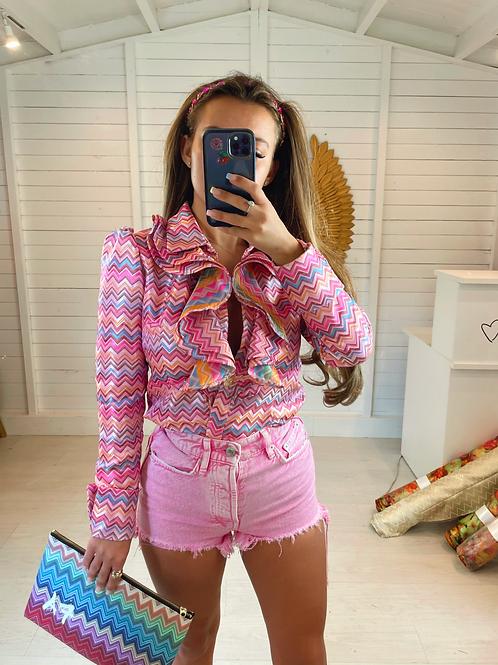 The Wonderland Shirt - Pink PRE-ORDER