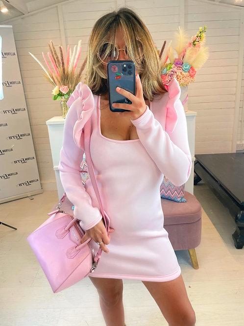The Espresso Mini Dress Pink