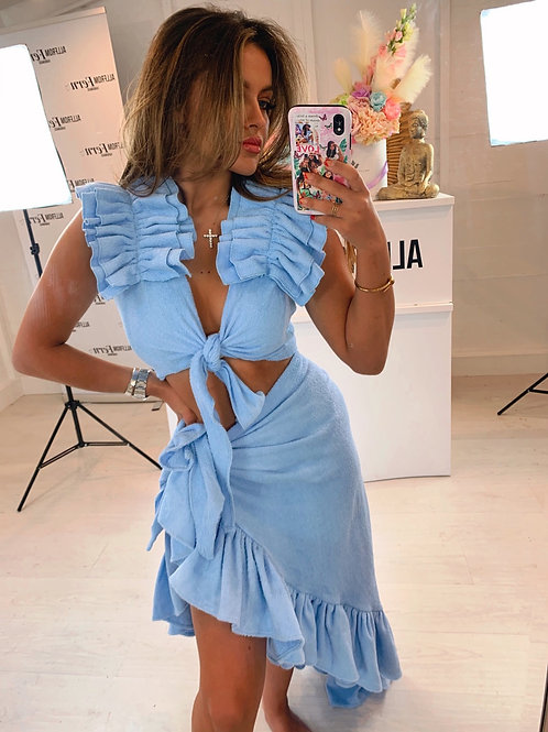 The Nammos Towelling Blue Set - Pre Order