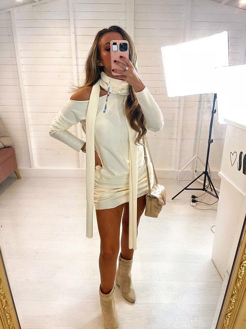 The Creme dress - Cream