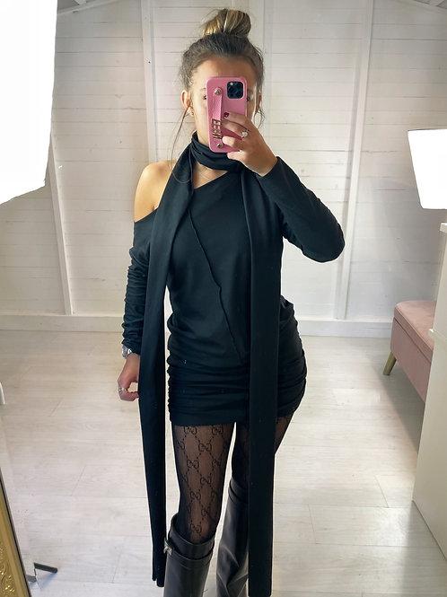 The Creme Dress - Black