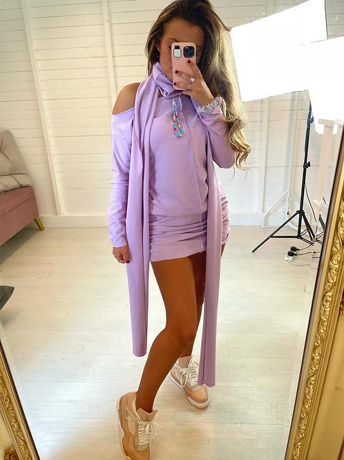 The Creme Dress - Violet