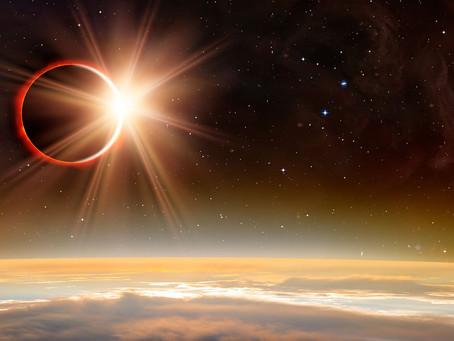Eclipse solar anillo de fuego - 10 de junio