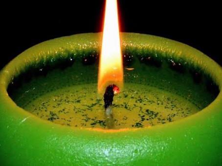 Magia con velas verdes