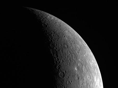 Mercurio en máxima elongación este del 24 de enero