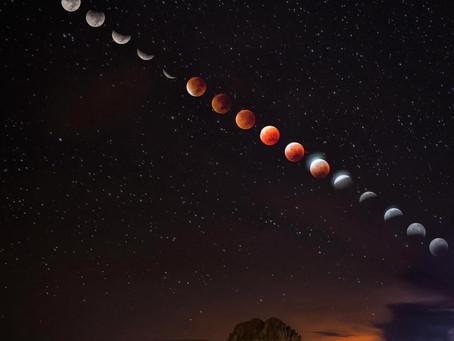 Este 26 de mayo se llevarán a cabo un Eclipse total de Luna y Luna Llena (Superluna)
