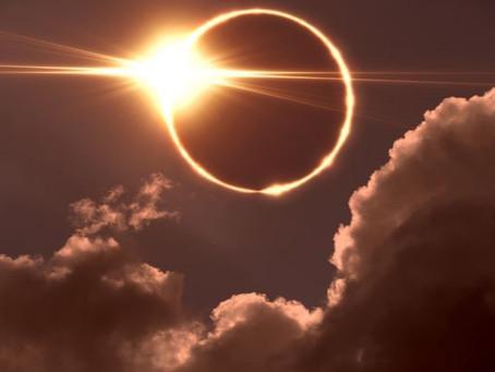 Eclipse anular de Sol - 10 de junio