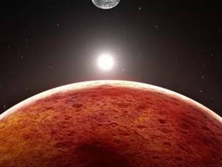 Hoy 23 de diciembre habrá Conjunción de la Luna y Marte.