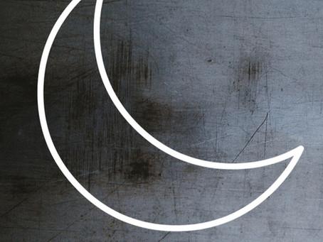 Símbolo alquímico de la plata