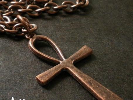Los orígenes de la cruz ansada.