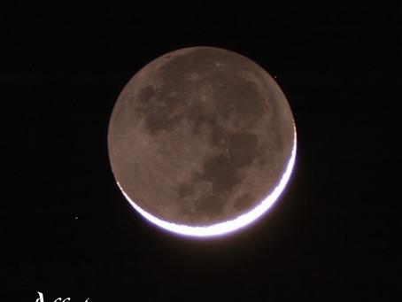 Conjunción de Luna y Marte - 6 de septiembre