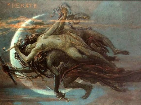 Hécate, la diosa triple